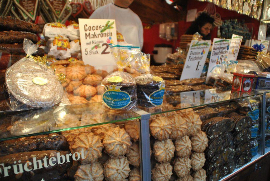 lebkuchen kokosmakronen christkindlmarkt nürnberg
